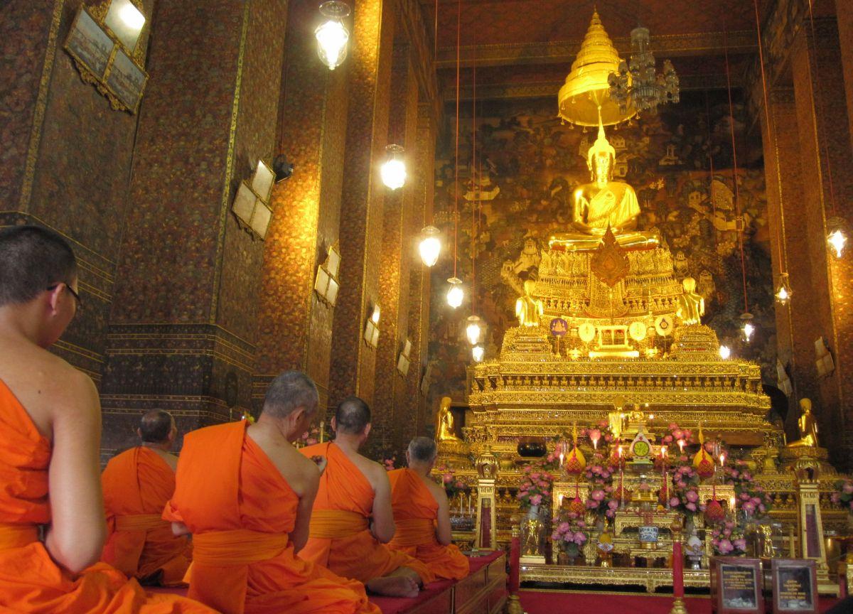 Wat Pho Świątynia Leżącego Buddy